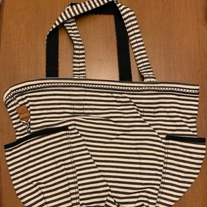 Thirty-one NWT Retro Metro Bag Twill Stripe